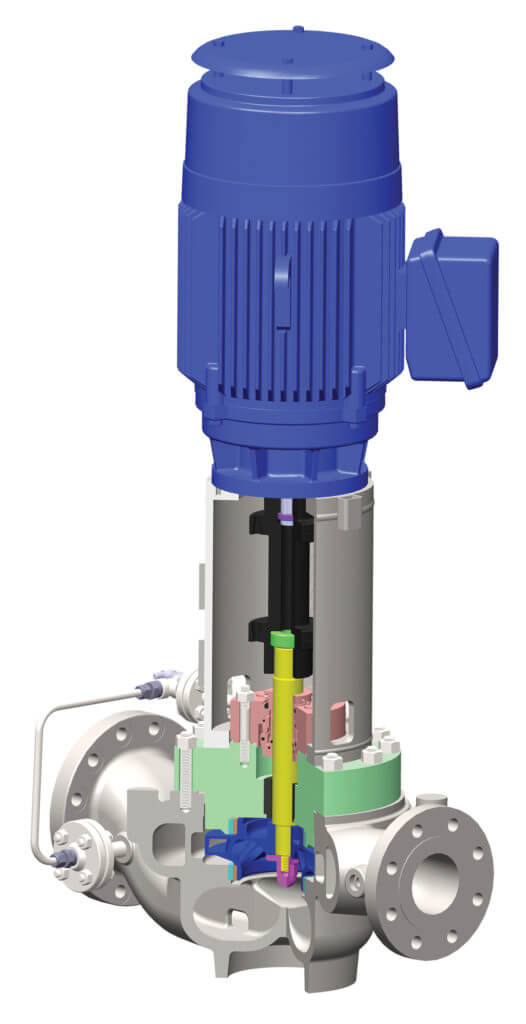 API-610 OH3 Vertical Pump