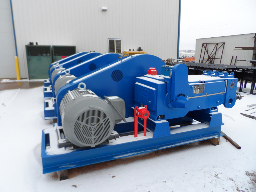 Apergy – Hydraulic Lift Multiplex Pump