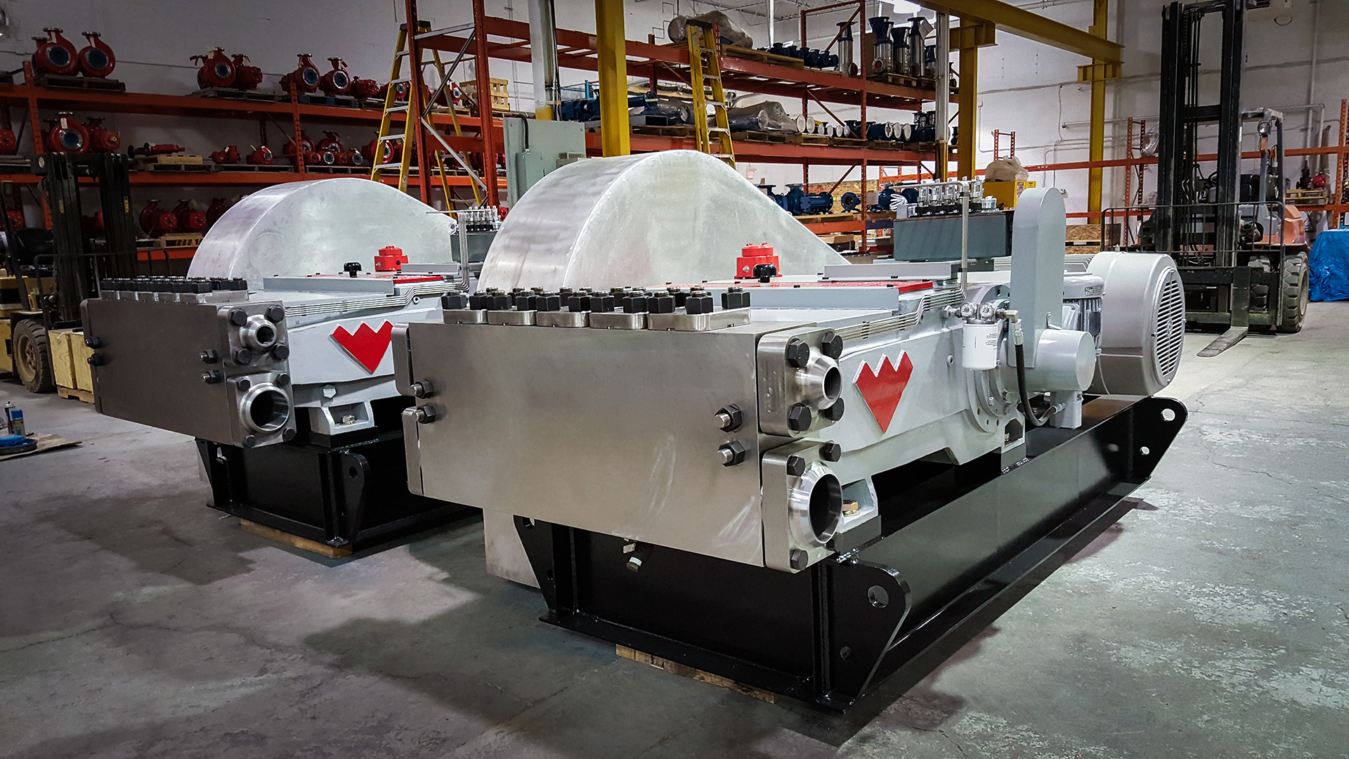 Weatherford Reciprocating Plunger Pumps