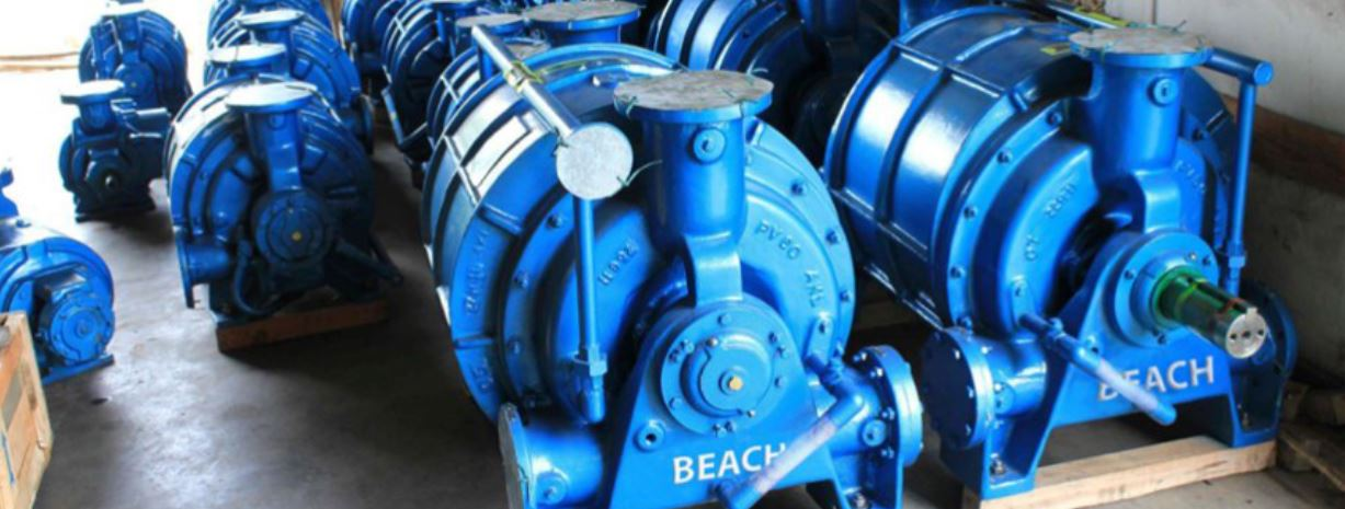 Beach Pump & Service Company Vacuum Pumps from Pump Projects